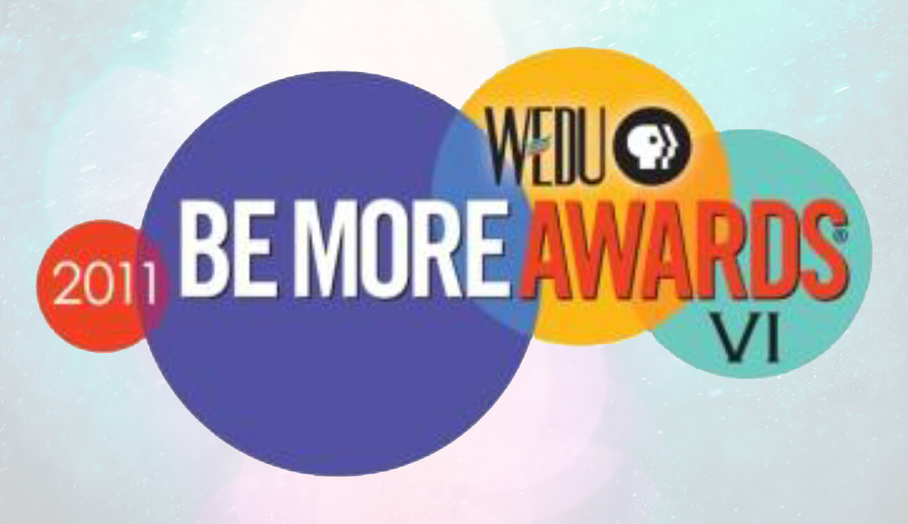 WEDU Be More Awards – Be More Brilliant, Judge's Choice & Nonprofit Organization of the Year Finalists