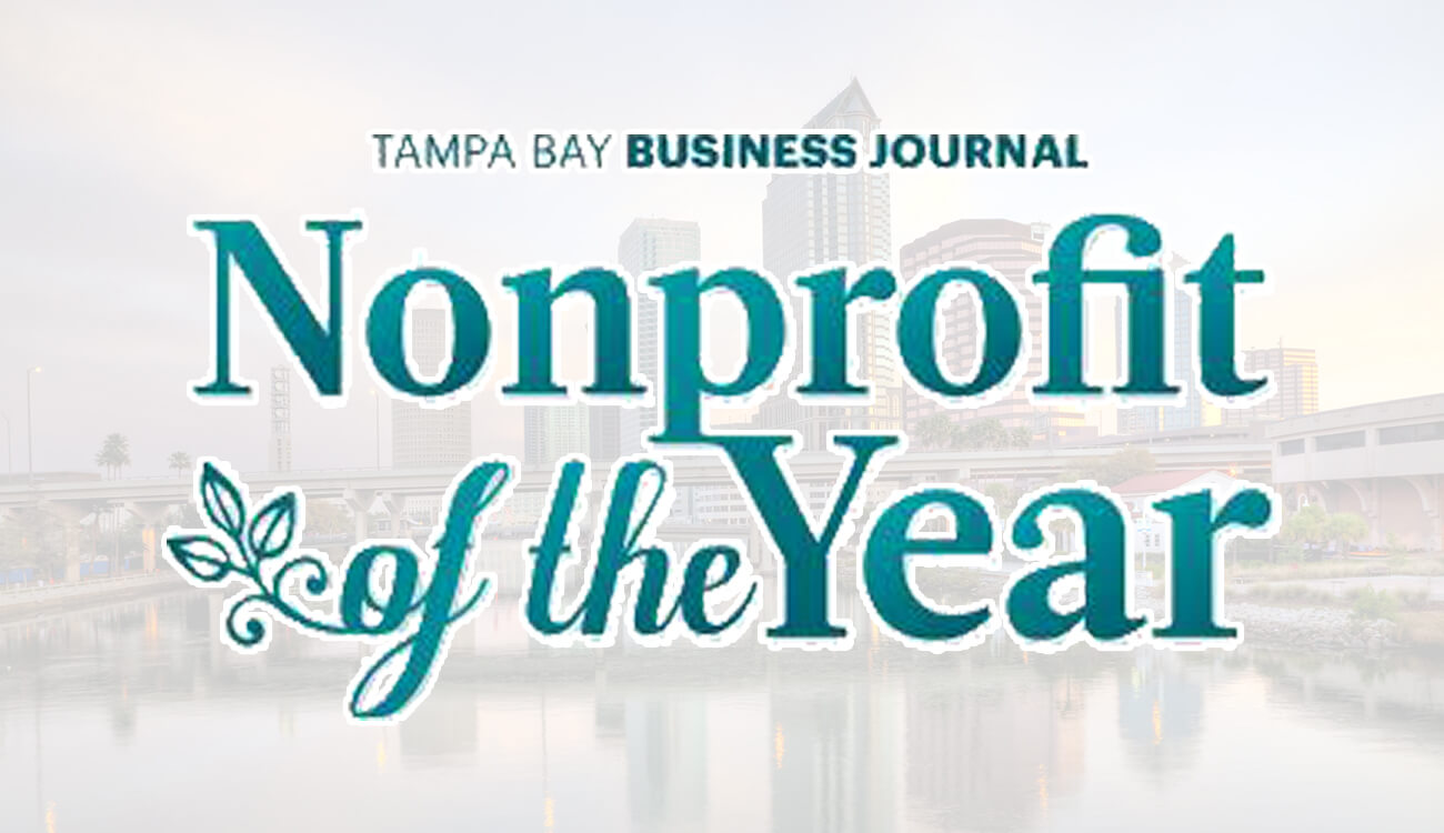 Nonprofit of the Year Finalist for Tampa Bay Business Journal Health Care Heroes