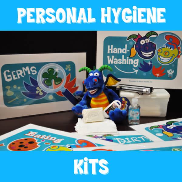 MORE HEALTH Personal Hygiene Kit