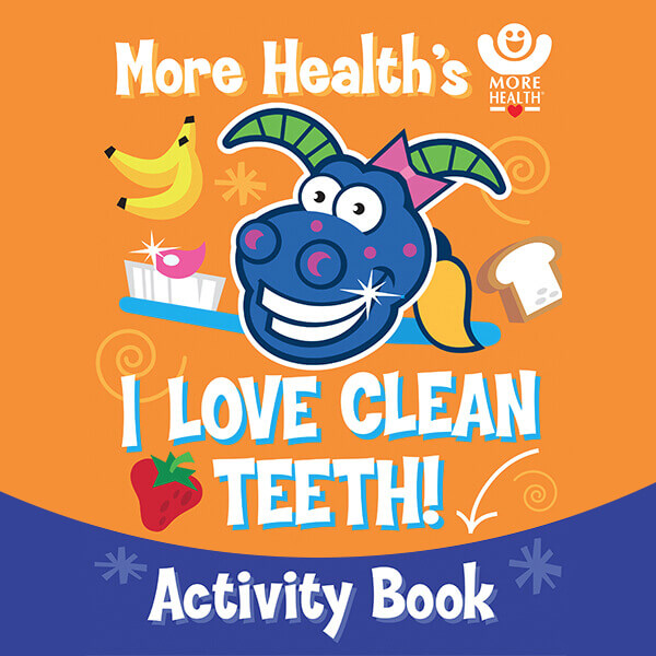 Activity Coloring Book - More Healthy Smiles