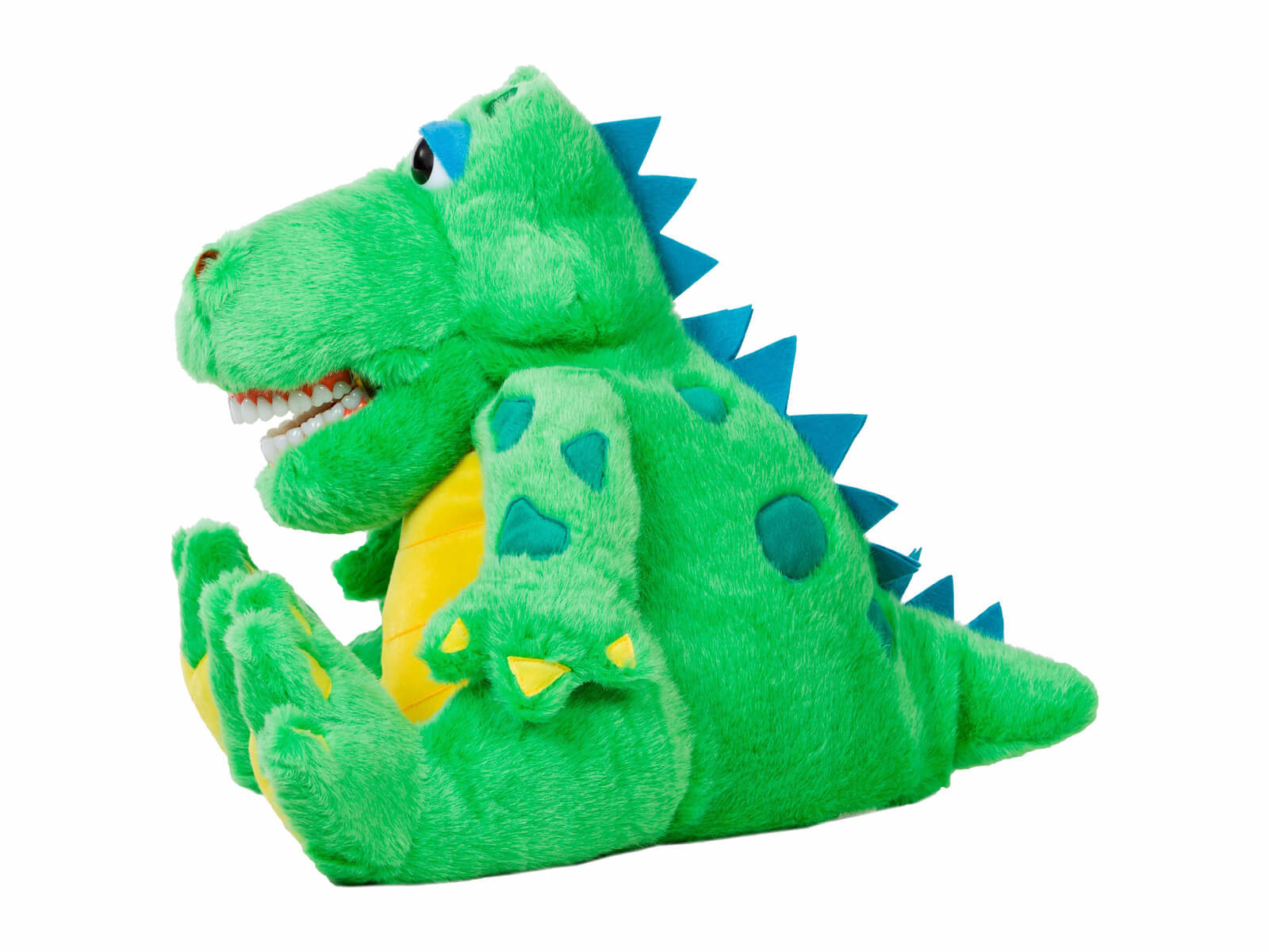 Al E. Gator Dental Puppet - Side