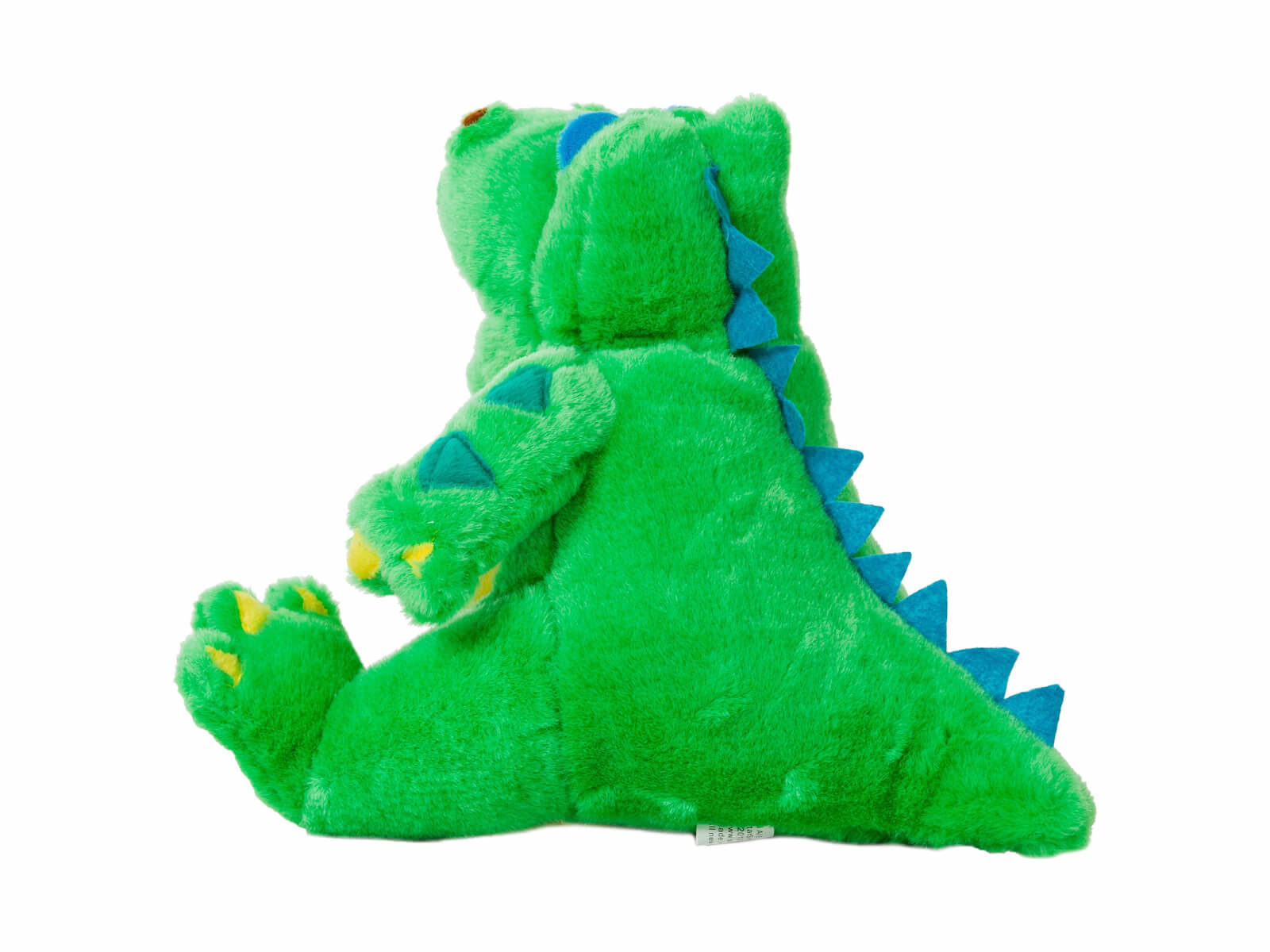 Lil Allie Gator Dental Puppet - Back