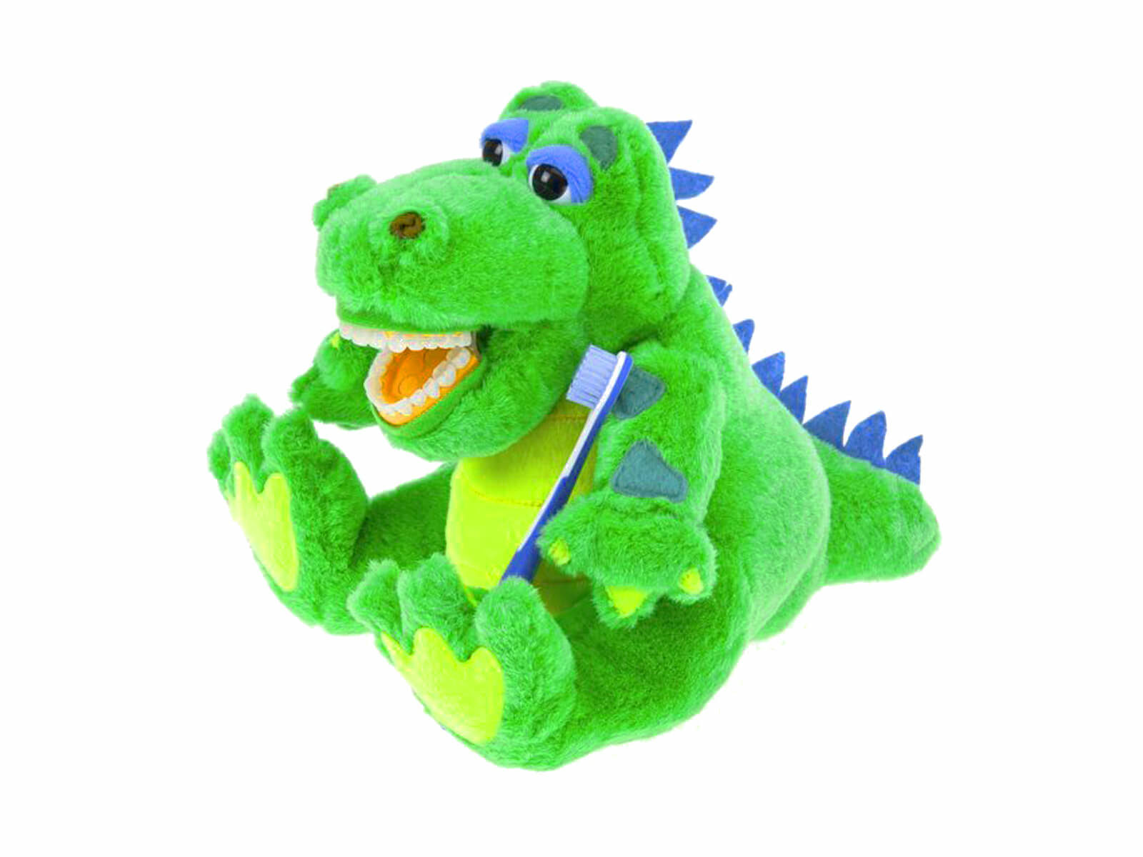 Lil Allie Gator Dental Puppet - Front