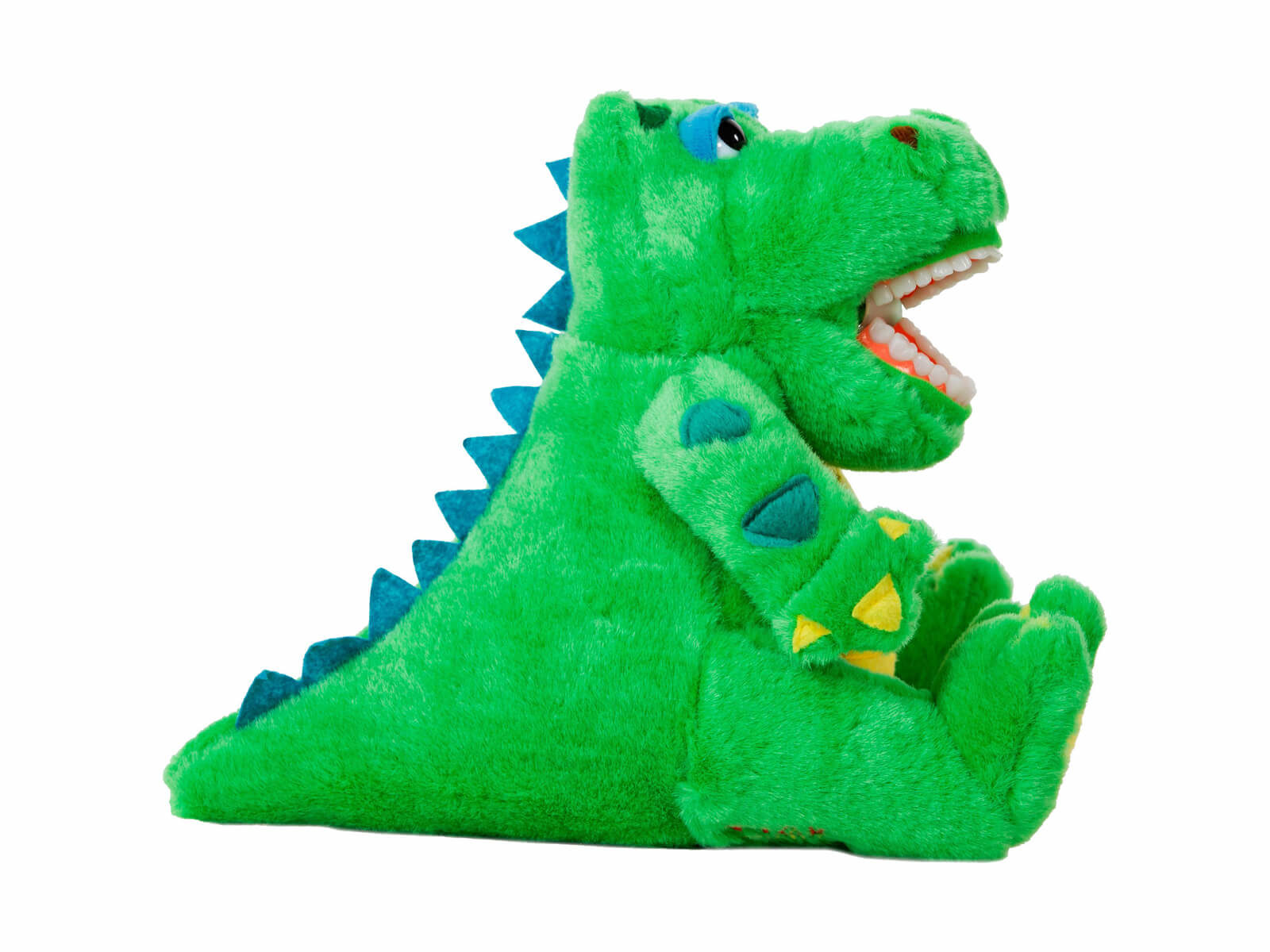 Lil Allie Gator Dental Puppet - Side