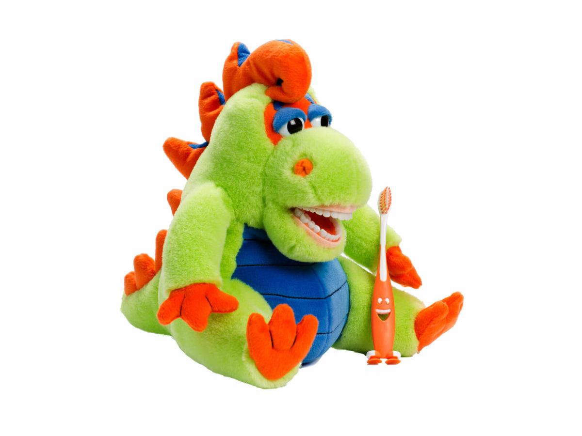 Lil Farley Flossisaurus Dental Puppet - Front