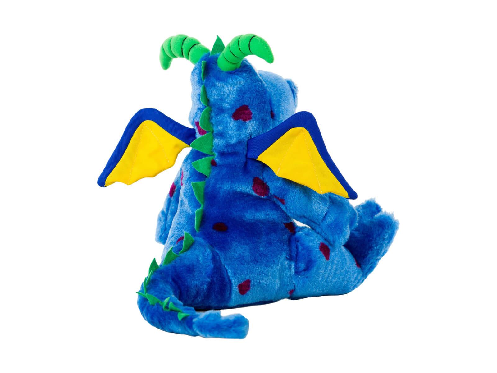 Lil Magi Dragon Dental Puppet - Back