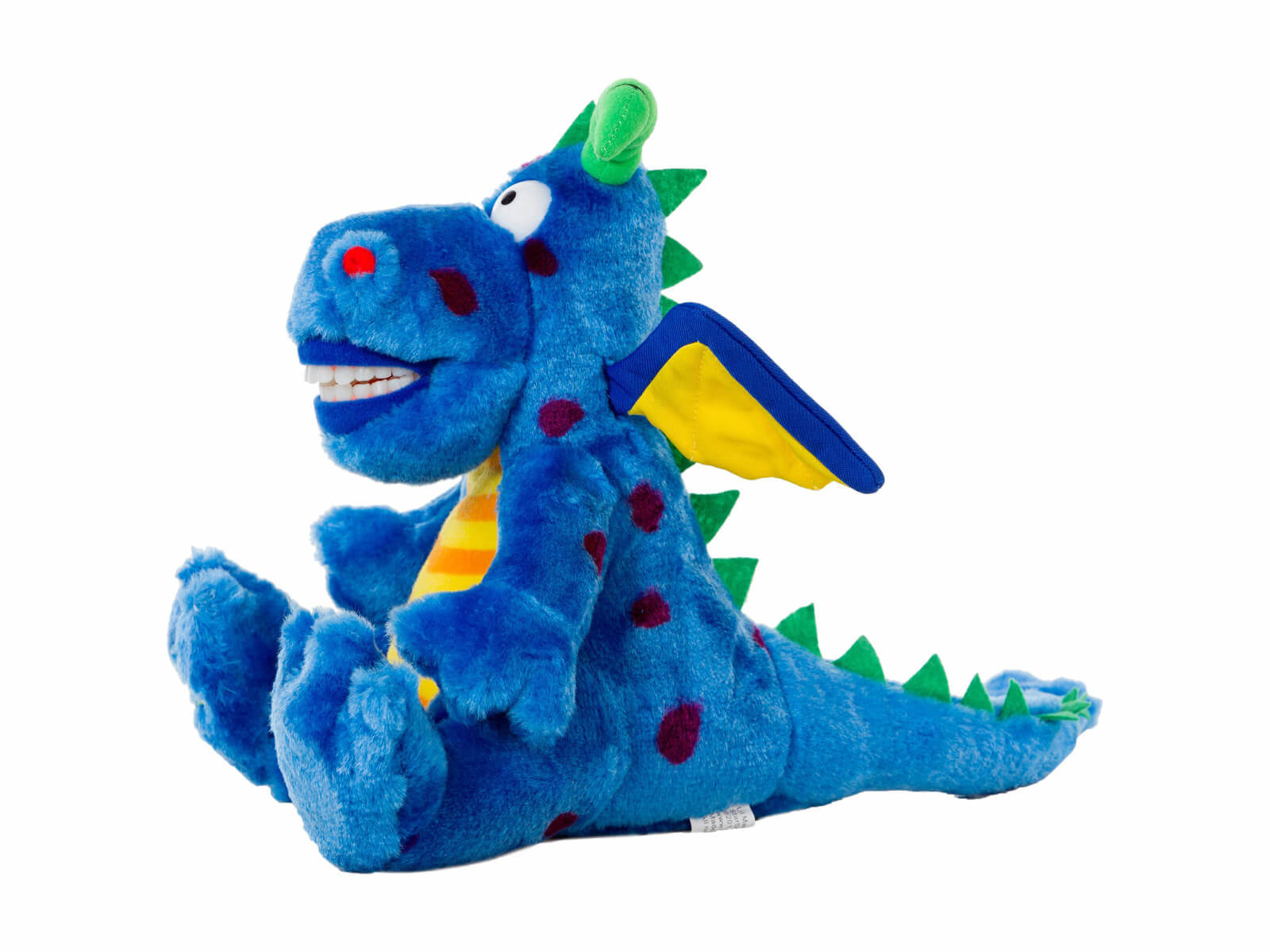 Lil Magi Dragon Dental Puppet - Side