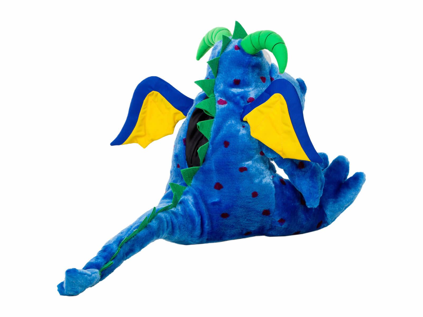 Magi Z Dragon Dental Puppet - Back