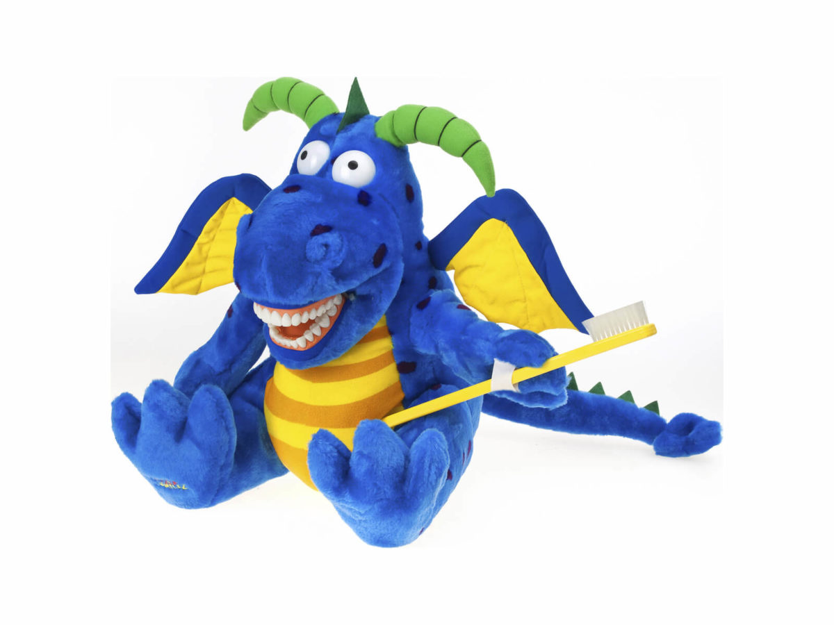 Magi Z Dragon Dental Puppet - Front