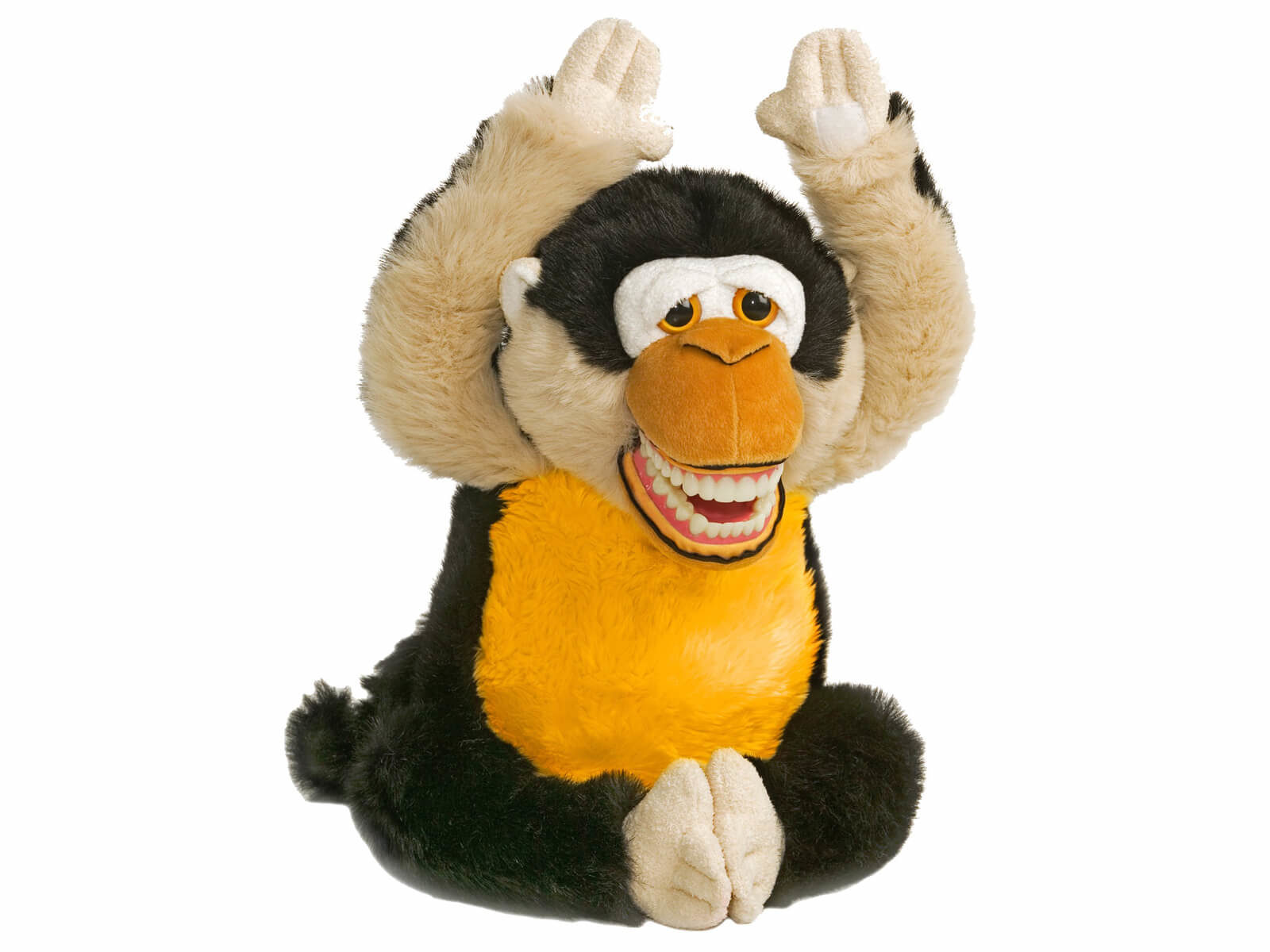 Mojo Monkey Dental Puppet - Front