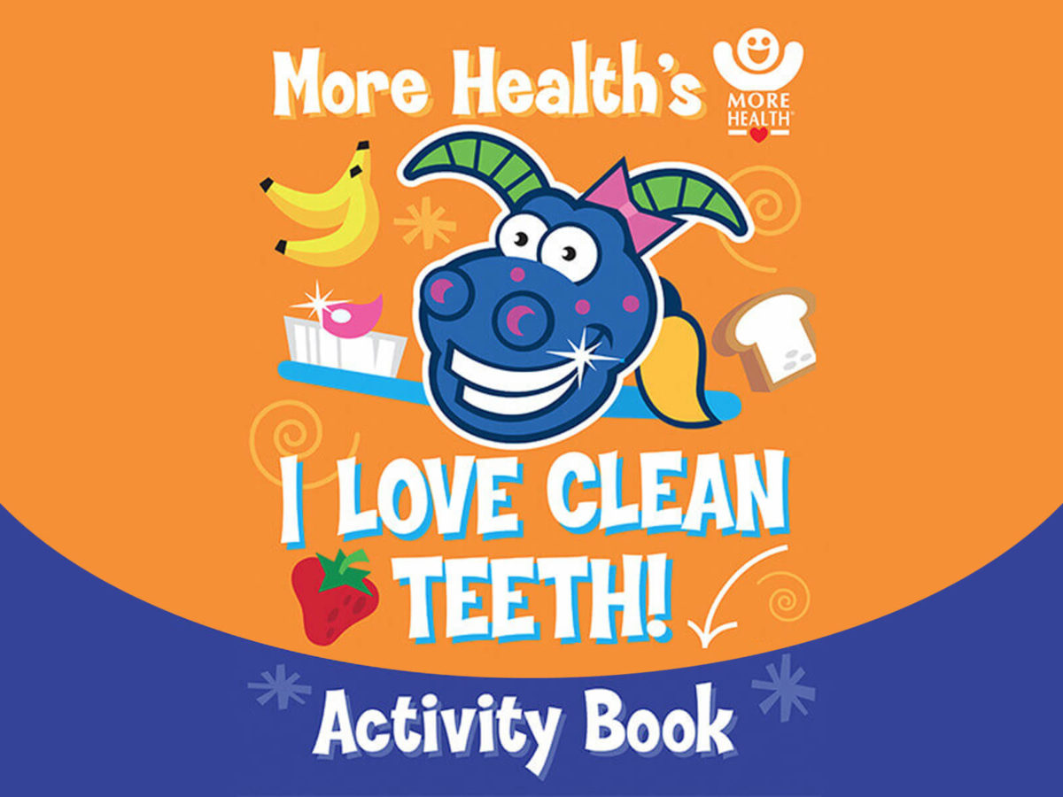 More Healthy Smiles - Activity Coloring Book
